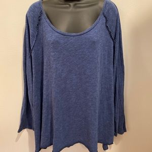 Soft Surroundings blue top